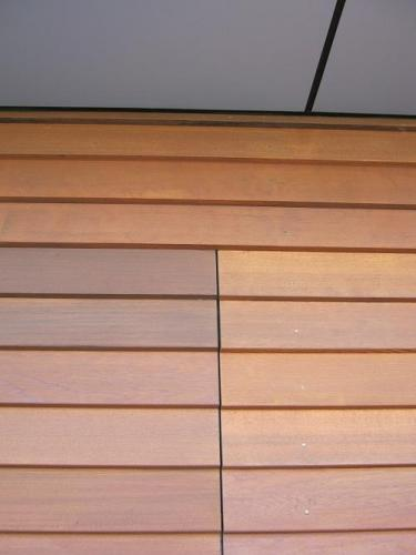 CD16 - Horizontal Cedar Bevel Back Weatherboard - Flush Fit 2x Doors - Close Up